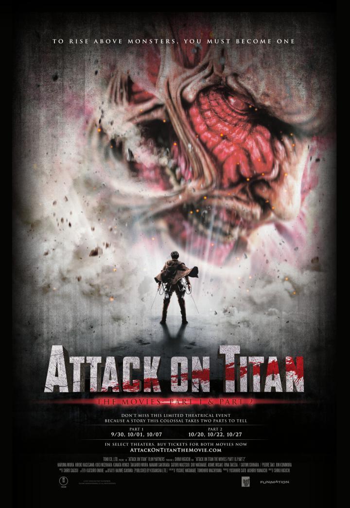 Attack on Titan the Movie: Part One - Laemmle com